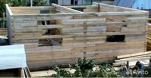 как построить дом своими руками дешево и красиво видео из бруса - Всё делаем сами