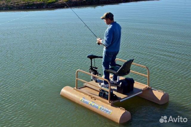 плот для рыбалки