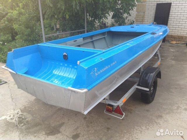 продажа лодки казанка в россии на авито