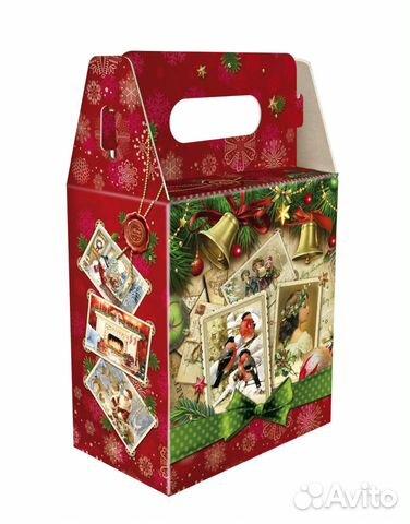 Новогодняя игрушка упаковка для новогодних подарков 589
