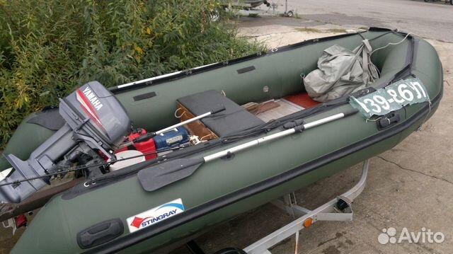 тент для лодки стингрей 390