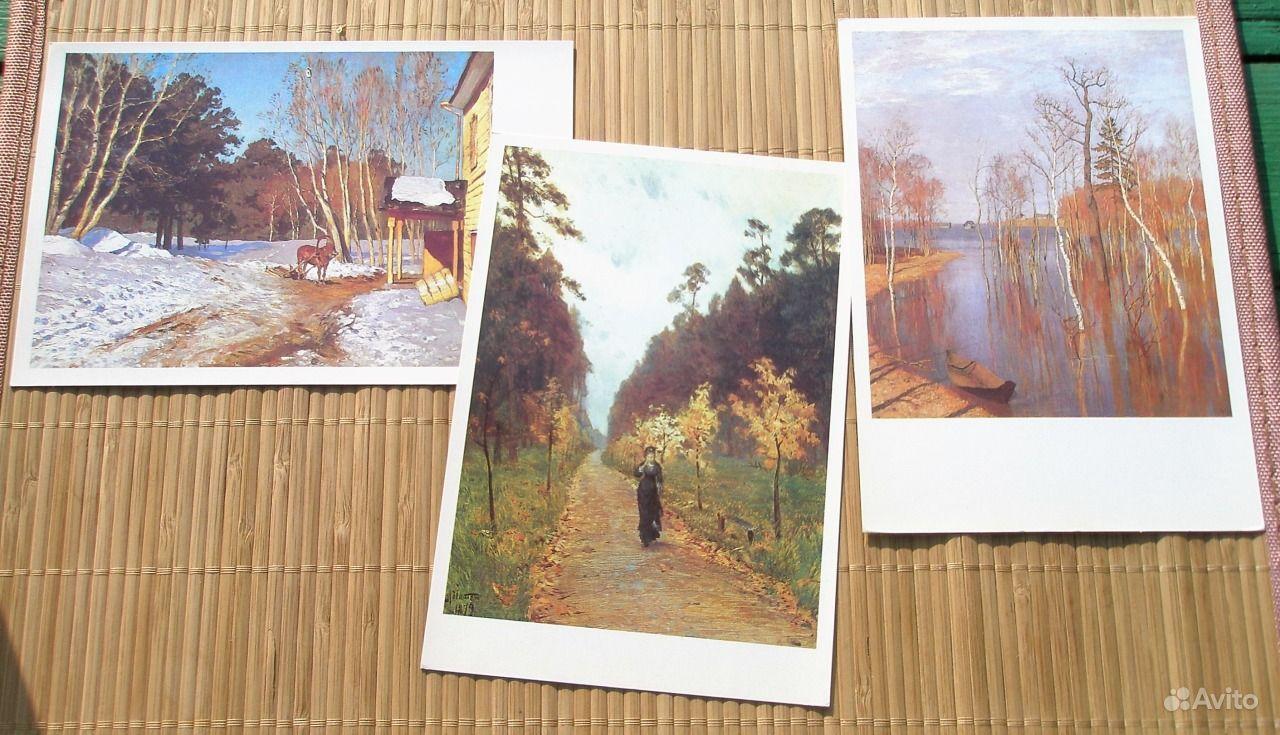 репродукции картин набор открыток просторном светлом заведении