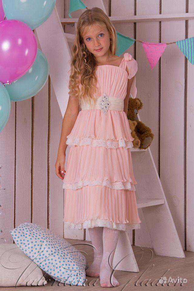 aa14c8ed79b Детское праздничное платье