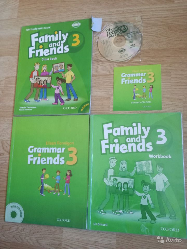 Гдз Family And Friends Workbook 3 Liz Driscoll