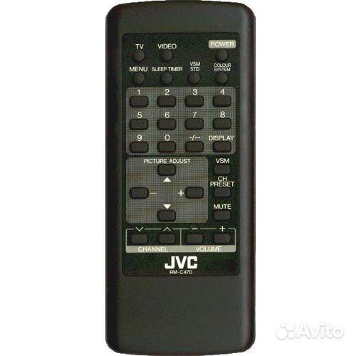 Пульт ду JVC RM-C470 (ic)