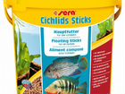 Корм для цихлид sera Cichlid Sticks