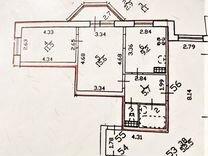 2-к. квартира, 48,7м², 8/16эт.