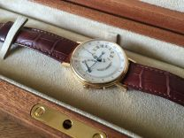 Breguet Classique Power Reserve Mens Watch Rose Go