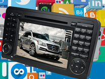 Автомагнитола Mercedes-Benz ML/GL 164 Android 7.1