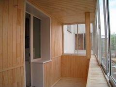 Услуги по отделке лоджий и балконов. - строительство и ремон.