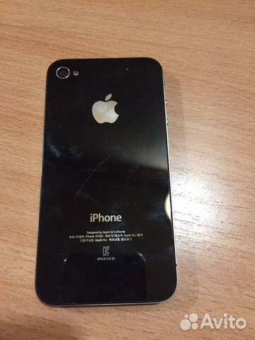 Айфон 4 черный