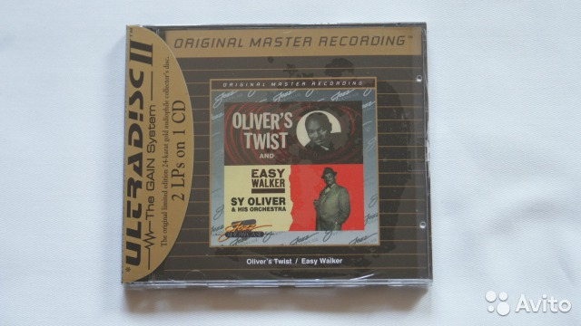 Mfsl-udcd 638 Sy Oliver Olivers Twist Easy Walker— фотография №1