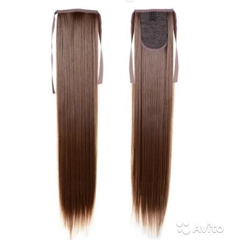 Купить хвост из волос в краснодаре