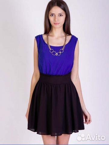 Купить Синее Платье На Авито