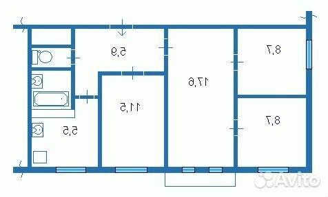 сходить квартиры 4комнатные в пятиэтажке магических