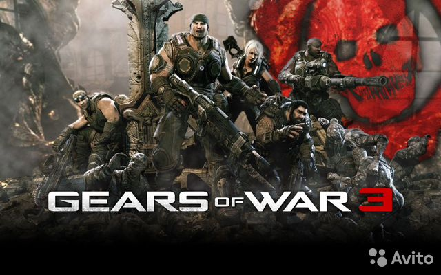 Gears of War 3 (Xbox 360) (англ.)— фотография №1