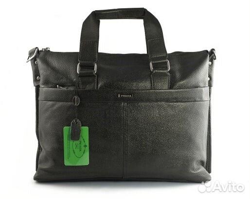 Мужская кожаная сумка Prada А4 Мужские сумки - Личные вещи, Одежда, обувь,  аксессуары - Москва - Объявления на сайте Авито 811d478f193