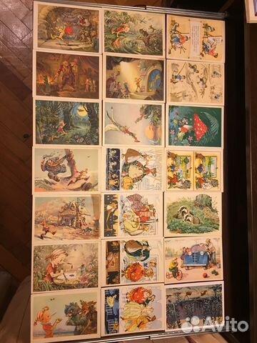 1955 открытка цена, гусар открытки