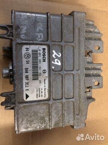 Блок управления двигателем Ауди 8A0907311A— фотография №1