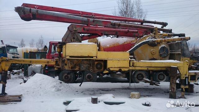 отображает продается стансионие бетононасос на авито в москве класс