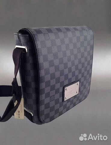 bb85094ee25c Мужская сумка через плечо Louis Vuitton арт.51210 купить в Москве на ...