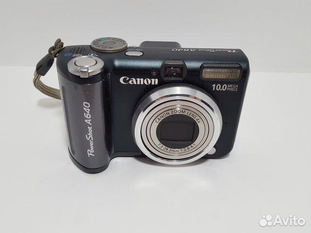 Инструкция canon powershot a640