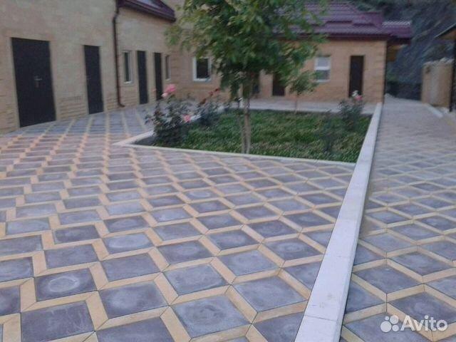 Укладка тротуарной плитки цена за работу в Рязани