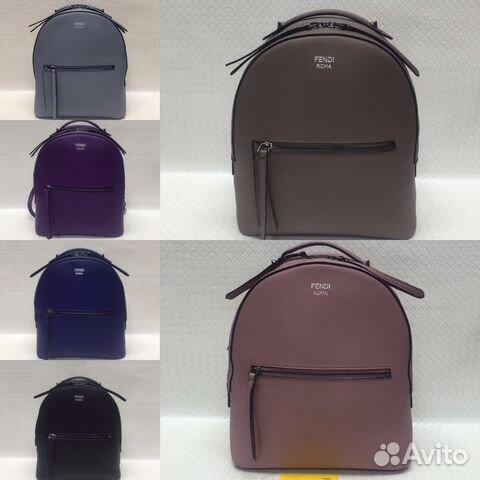 682cb20875e9 Кожаные рюкзаки Fendi | Festima.Ru - Мониторинг объявлений