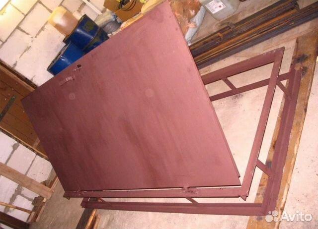 изготовим металлические гаражные двери