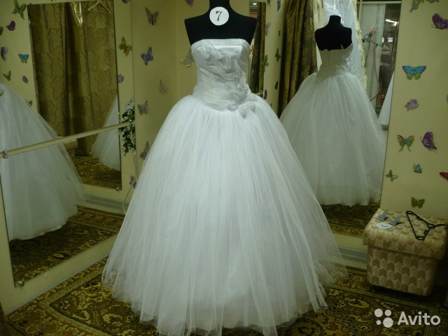 Свадебные платья тула купить авито