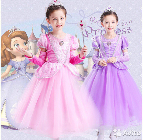 cf5cc9c1c9a26e1 Нарядное платье принцессы Софии | Festima.Ru - Мониторинг объявлений