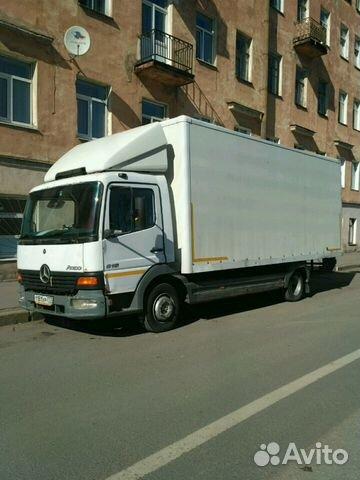 3e63eb3f07b63 Продам Мерседес Атего 5 тонн - Транспорт, Грузовики и спецтехника - Санкт- Петербург - Объявления на сайте Авито