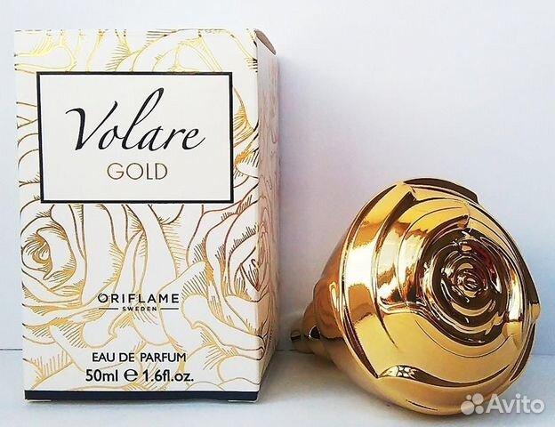 парфюмерная вода Volare Gold 50 мл личные вещи красота и