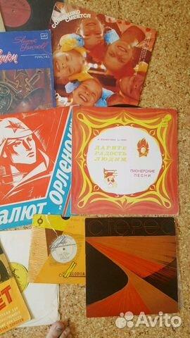 Виниловые пластинки русских-народных, патриотическ купить 4