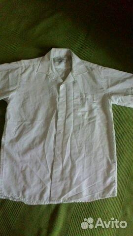 Рубашка на мальчика 11-12 лет  6c499e69783