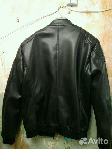 1ff03e2c8135 Кожаная мужская куртка zara 44  XL купить в Республике Коми на Avito ...