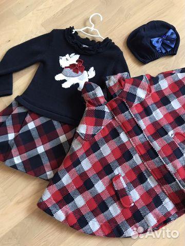 80201604de2 Комплект для девочки (платье