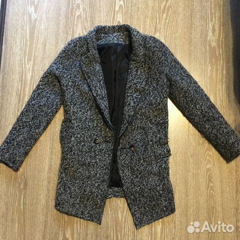 5baa348fcca Пальто пиджак ASOS черно-белое