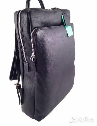 Кожаный рюкзак унисекс Prada арт.23009 купить в Москве на Avito ... 8ef490f7915