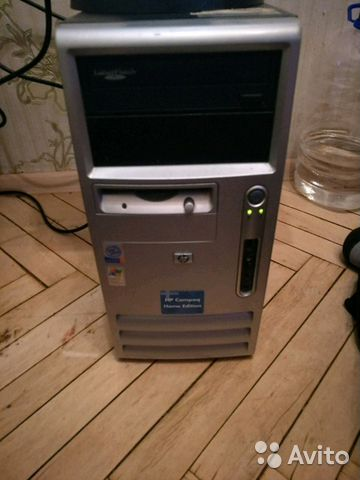 Системный блок HP compaq dx6100 MT