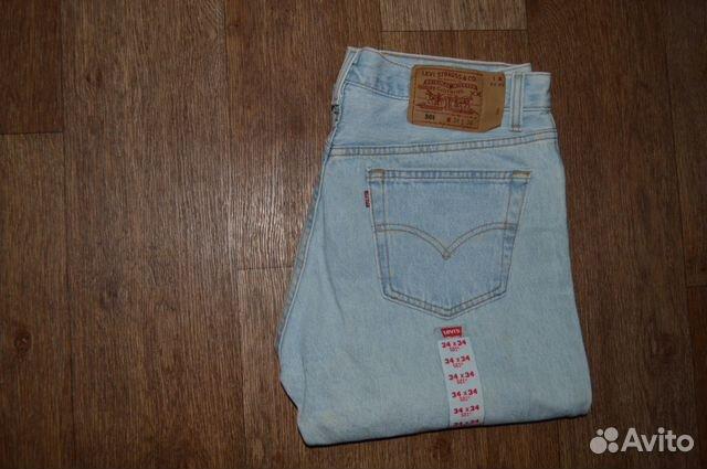 31a5dd4e78e7 Джинсы Levis 501 W34 L34, Made in USA, 1994г купить в Санкт ...