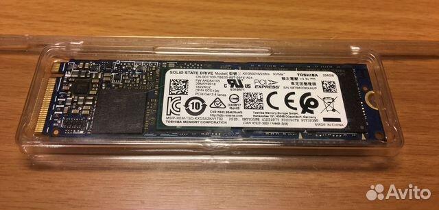 SSD M 2 256Gb Toshiba KXG50ZNV256G NVMe PCIe TLC