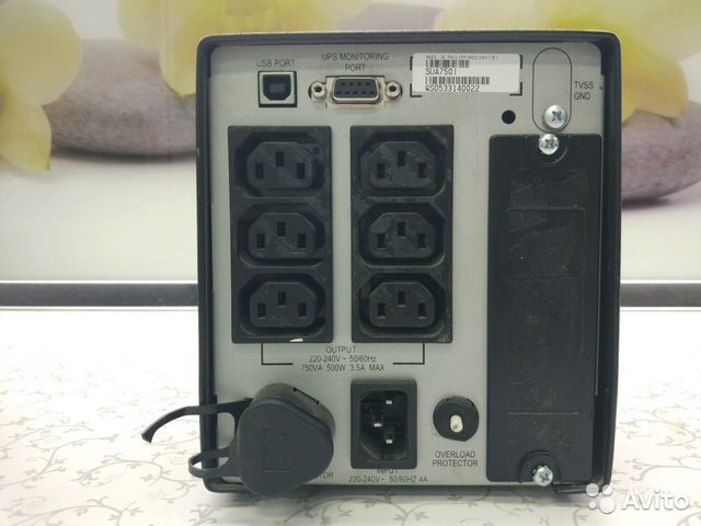 Ибп APC Smart UPS 750 SUA750I