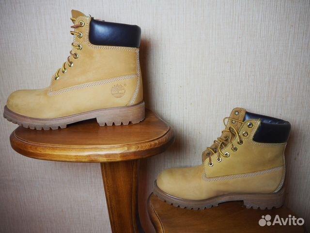 71e756ecf Ботинки Timberland ореховые | Festima.Ru - Мониторинг объявлений