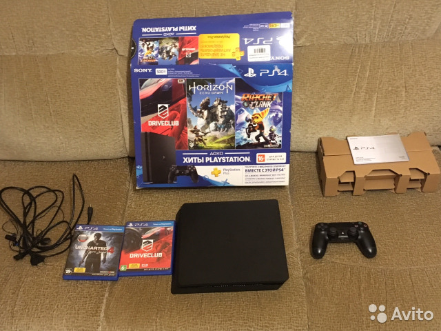 Sony PS4 Slim (500 Gb)