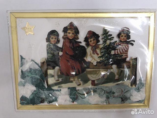 Открытка новогодняя. Handmade 89114516362 купить 5