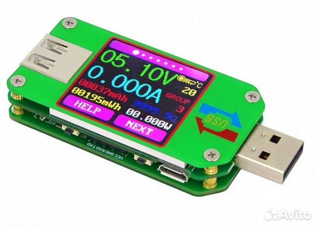 USB RD UM24C тестер с цветным дисплеем и Bluetooth 89124707070 купить 2