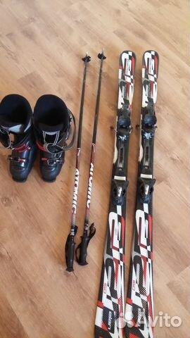 Горные лыжи с ботинками купить в Краснодарском крае на Avito ... bfc6f2983d0