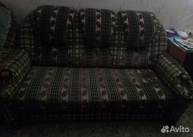 мягкий уголок диван и 2кресла кровати купить в самарской области на