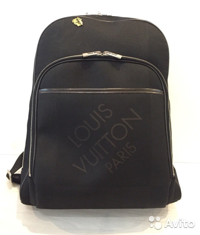 c46f80b85c15 Louis Vuitton оригинал мужской рюкзак черный нк032 купить в Москве ...